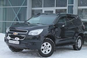 Авто Chevrolet TrailBlazer, 2013 года выпуска, цена 1 199 000 руб., Санкт-Петербург