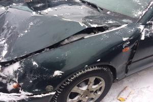 Подержанный автомобиль Mitsubishi Galant, битый состояние, 1994 года выпуска, цена 25 000 руб., Смоленская область