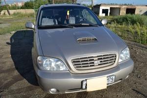Автомобиль Kia Carnival, хорошее состояние, 2003 года выпуска, цена 390 000 руб., Троицк