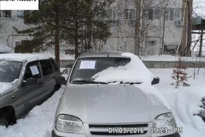 Подержанный автомобиль Chevrolet Niva, среднее состояние, 2007 года выпуска, цена 100 000 руб., Нефтеюганск