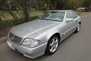 Автомобиль Mercedes-Benz SL-Класс, отличное состояние, 1993 года выпуска, цена 1 600 000 руб., Санкт-Петербург
