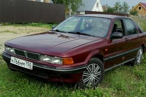 Подержанный автомобиль Mitsubishi Galant, хорошее состояние, 1992 года выпуска, цена 70 000 руб., Московская область