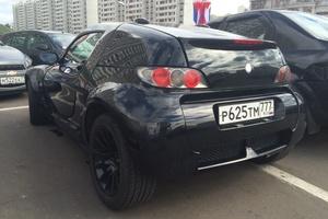 Автомобиль Smart Roadster, хорошее состояние, 2003 года выпуска, цена 420 000 руб., Москва