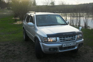Автомобиль Isuzu Wizard, среднее состояние, 1999 года выпуска, цена 455 000 руб., Улан-Удэ