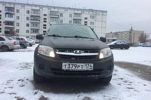 Подержанный автомобиль ВАЗ (Lada) Granta, отличное состояние, 2013 года выпуска, цена 310 000 руб., Челябинск