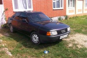 Подержанный автомобиль Audi 80, среднее состояние, 1990 года выпуска, цена 85 000 руб., Крымск