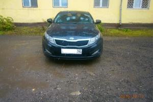 Автомобиль Kia K5, отличное состояние, 2011 года выпуска, цена 780 000 руб., Новокузнецк