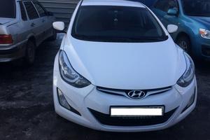 Подержанный автомобиль Hyundai Elantra, отличное состояние, 2014 года выпуска, цена 850 000 руб., Щелково