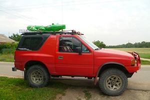 Автомобиль Isuzu Amigo, среднее состояние, 1991 года выпуска, цена 200 000 руб., Пушкино