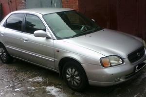 Автомобиль Suzuki Cultus, хорошее состояние, 2001 года выпуска, цена 185 000 руб., Северск