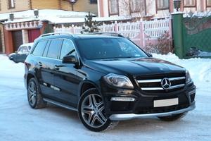 Подержанный автомобиль Mercedes-Benz GL-Класс, отличное состояние, 2014 года выпуска, цена 4 500 000 руб., Челябинск