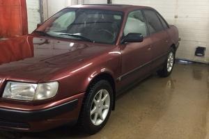 Подержанный автомобиль Audi 100, отличное состояние, 1992 года выпуска, цена 195 000 руб., Москва