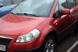 Автомобиль Fiat Sedici, отличное состояние, 2008 года выпуска, цена 360 000 руб., Москва