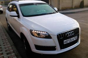 Подержанный автомобиль Audi Q7, отличное состояние, 2012 года выпуска, цена 1 950 000 руб., Краснодар