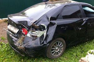 Автомобиль Kia Cerato, битый состояние, 2012 года выпуска, цена 200 000 руб., Смоленская область