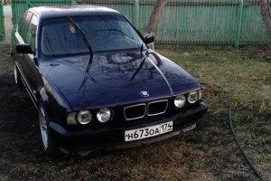 Автомобиль BMW 5 серия, хорошее состояние, 1995 года выпуска, цена 185 000 руб., Челябинск