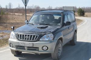 Автомобиль Hyundai Terracan, хорошее состояние, 2002 года выпуска, цена 600 000 руб., Мурманск