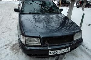 Автомобиль Audi 100, хорошее состояние, 1991 года выпуска, цена 110 000 руб., Москва