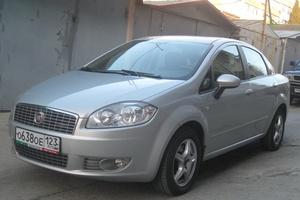 Автомобиль Fiat Linea, отличное состояние, 2011 года выпуска, цена 500 000 руб., Краснодар