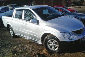 Автомобиль SsangYong Actyon, отличное состояние, 2008 года выпуска, цена 460 000 руб., Гулькевичи
