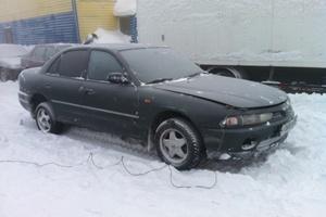 Автомобиль Mitsubishi Galant, хорошее состояние, 1993 года выпуска, цена 100 000 руб., Сургут