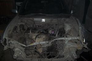 Автомобиль Nissan Pulsar, битый состояние, 1995 года выпуска, цена 40 000 руб., Новокузнецк