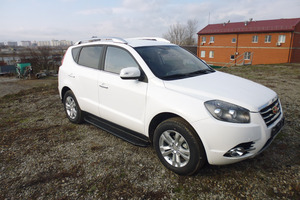 Авто Geely Emgrand, 2016 года выпуска, цена 829 000 руб., Краснодар