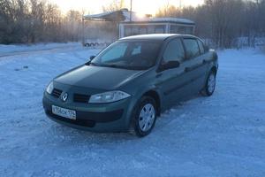 Подержанный автомобиль Renault Megane, отличное состояние, 2005 года выпуска, цена 237 000 руб., Челябинск