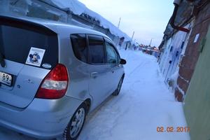 Подержанный автомобиль Honda Fit, хорошее состояние, 2002 года выпуска, цена 225 000 руб., Когалым