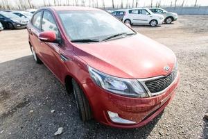 Авто Kia Rio, 2014 года выпуска, цена 448 500 руб., Москва