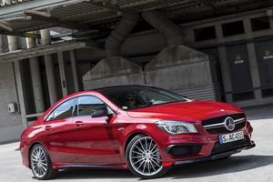 Подержанный автомобиль Mercedes-Benz CLA-Класс, хорошее состояние, 2014 года выпуска, цена 1 400 000 руб., Казань