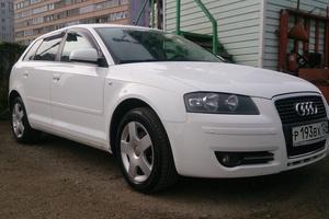 Автомобиль Audi A3, хорошее состояние, 2007 года выпуска, цена 490 000 руб., Красноярск