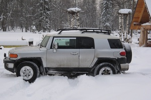 Автомобиль Toyota FJ Cruiser, хорошее состояние, 2007 года выпуска, цена 1 300 000 руб., Вышний Волочек