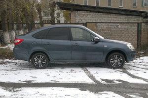 Подержанный автомобиль ВАЗ (Lada) Granta, отличное состояние, 2014 года выпуска, цена 380 000 руб., Челябинск