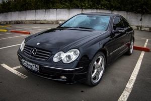 Автомобиль Mercedes-Benz CLK-Класс, отличное состояние, 2003 года выпуска, цена 520 000 руб., Челябинск