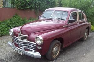 Подержанный автомобиль ГАЗ М-20 Победа, отличное состояние, 1955 года выпуска, цена 400 000 руб., Магнитогорск