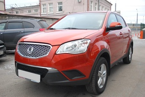 Авто SsangYong Actyon, 2013 года выпуска, цена 718 000 руб., Санкт-Петербург