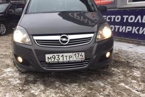 Подержанный автомобиль Opel Zafira, отличное состояние, 2012 года выпуска, цена 560 000 руб., Челябинск