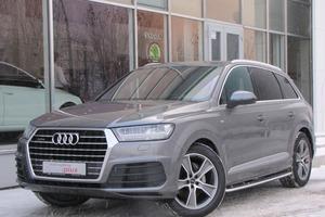 Подержанный автомобиль Audi Q7, отличное состояние, 2016 года выпуска, цена 4 860 000 руб., Екатеринбург