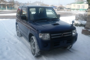 Автомобиль Mitsubishi Pajero Mini, отличное состояние, 2008 года выпуска, цена 375 000 руб., Ужур