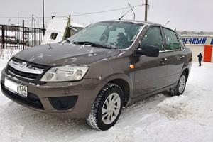 Подержанный автомобиль ВАЗ (Lada) Granta, отличное состояние, 2015 года выпуска, цена 365 000 руб., Челябинск