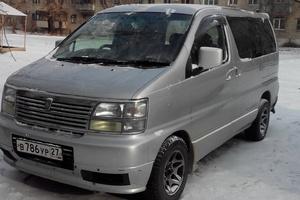 Автомобиль Nissan Elgrand, хорошее состояние, 1999 года выпуска, цена 400 000 руб., Хабаровск