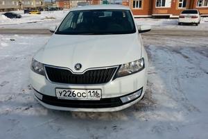 Подержанный автомобиль Skoda Rapid, отличное состояние, 2014 года выпуска, цена 550 000 руб., Набережные Челны