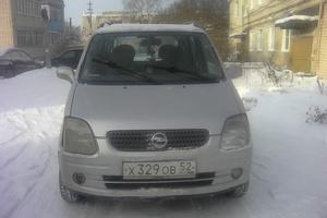 Автомобиль Opel Agila, хорошее состояние, 2001 года выпуска, цена 143 000 руб., Арзамас