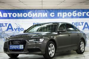 Подержанный автомобиль Audi A6, отличное состояние, 2013 года выпуска, цена 1 440 000 руб., Москва