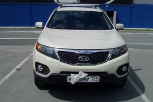 Подержанный автомобиль Kia Sorento, хорошее состояние, 2010 года выпуска, цена 870 000 руб., Челябинск