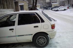 Автомобиль Toyota Starlet, среднее состояние, 1991 года выпуска, цена 75 000 руб., Хабаровский край