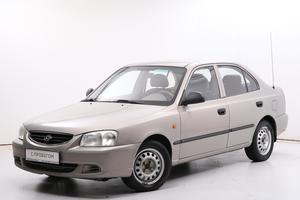Авто Hyundai Accent, 2008 года выпуска, цена 255 000 руб., Санкт-Петербург
