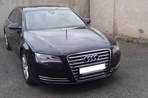 Подержанный автомобиль Audi A8, отличное состояние, 2011 года выпуска, цена 1 900 000 руб., Красноярск