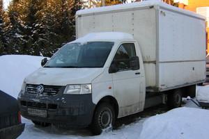 Подержанный автомобиль Volkswagen Transporter, хорошее состояние, 2007 года выпуска, цена 535 000 руб., Голицыно